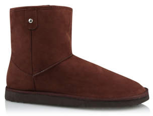 George Chocolate Fleece Lined Snug Outdoor Boots