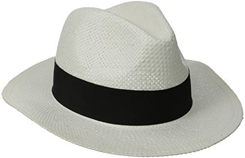 D&Y Women's Paper with Grosgrain Band Panama Hat
