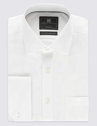 Marks and Spencer Pure Cotton Non-Iron Twill Tailored Fit Shirt