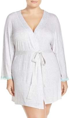 Honeydew Intimates All American Short Robe (Plus Size)