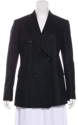 Boglioli Double-Breasted Wool Blazer