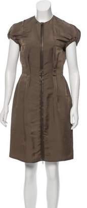 Lanvin Knee-Length Silk Dress