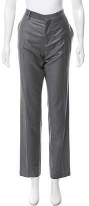 Balenciaga Virgin Wool High-Rise Pants