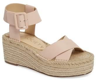 Sole Society 'Audrina' Platform Espadrille Sandal (Women)