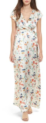 Women's Tularosa Sid Wrap Maxi Dress $228 thestylecure.com