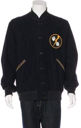 Co RRL & Wool Patch Varsity Jacket