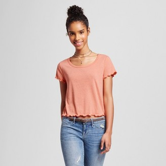 Mossimo Supply Co. Women's Lettuce Edge Knit Top - Mossimo Supply Co. $9.99 thestylecure.com