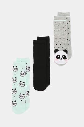 Ardene Panda Socks