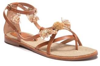Soludos Panarea Leather Tassel Sandal
