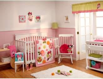 Disney Baby Minnie Mouse Petals Perfect 4-pc. Crib Bedding Set