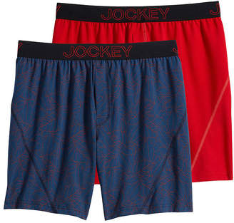 Jockey 2 Pair No Bunch Boxers - Men's