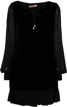 Twin-Set cocktail peasnat dress
