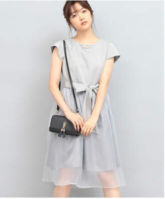 ViS (ビス) - ViS 【WEDDINGS&PARTIES】ネックレス付きシアースカートドレス