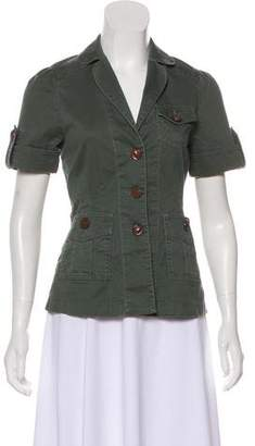 Marc by Marc Jacobs Short Sleeve Button-Up Jacket
