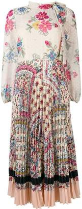 RED Valentino floral long dress