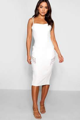 a28236586c62 boohoo White Lace Midi Dresses - ShopStyle UK