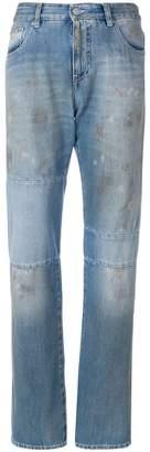 MM6 MAISON MARGIELA distressed panel jeans