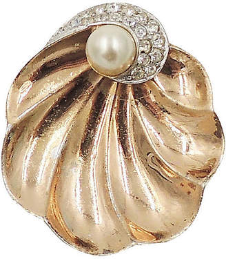 One Kings Lane Vintage Boucher Shell Fur Clip - Carrie's Couture