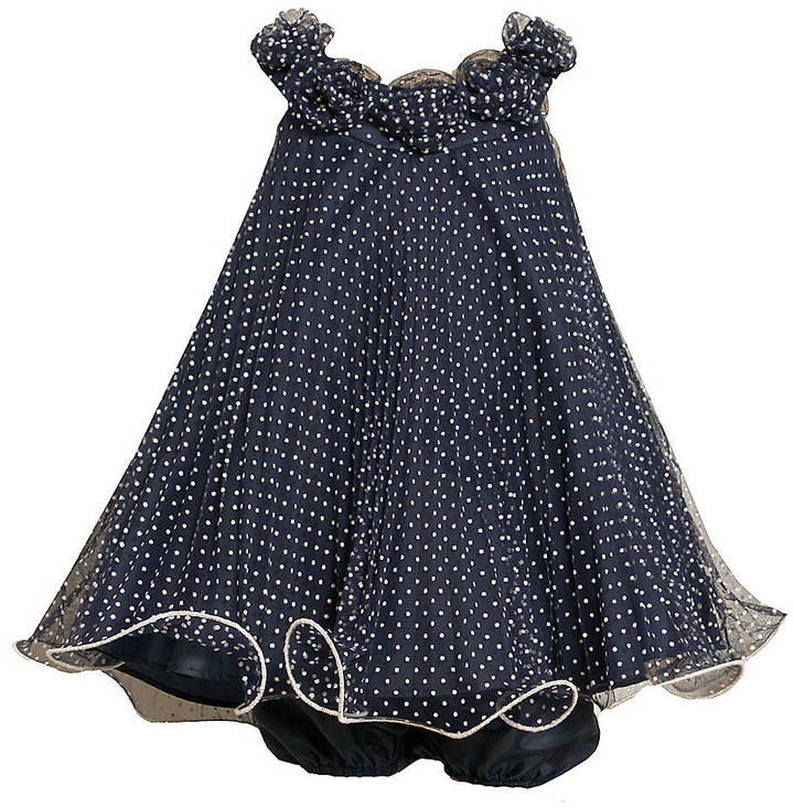 IRIS & IVY Baby Girls 12-24 Months Polka Dot Swing Dress