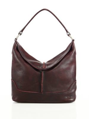 Frye Cara Leather Hobo Bag $398 thestylecure.com