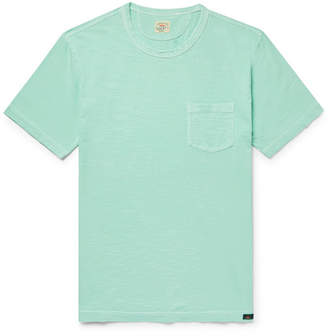 Faherty Slim-Fit Garment-Dyed Slub Cotton-Jersey T-Shirt