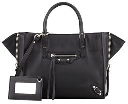 Balenciaga Papier A4 Mini Leather Tote Bag $1,395 thestylecure.com