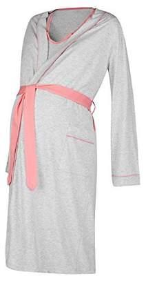 Happy Mama Boutique Happy Mama. Womens Maternity Hospital Gown Robe Nightie Set Labour & Birth. 767p (, US 6/8, M)