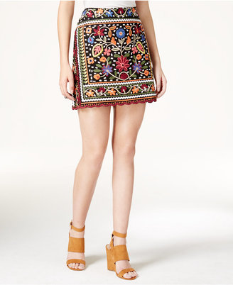 Fair Child Embroidered Mini Skirt $129 thestylecure.com