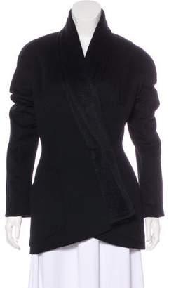 Thierry Mugler Angora-Blend Short Coat