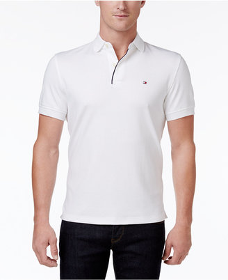 Tommy Hilfiger Men's Interlock Cotton Polo $49.50 thestylecure.com