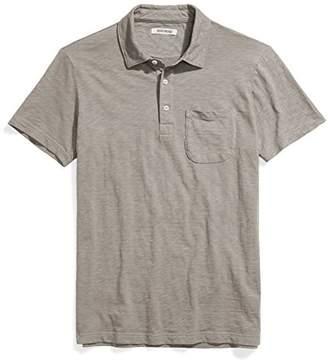 Goodthreads Men's Short-Sleeve Slub Polo