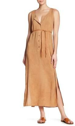 THML Lace Back Maxi Dress