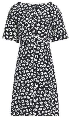 Proenza Schouler Printed Silk Crepe De Chine Mini Dress