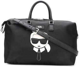 Karl Lagerfeld Paris Ikonik Weekender bag