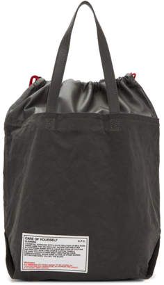 A.P.C. Grey Care Of Yourself Tote