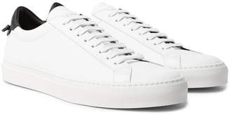 Urban Street Two-Tone Leather Sneakers