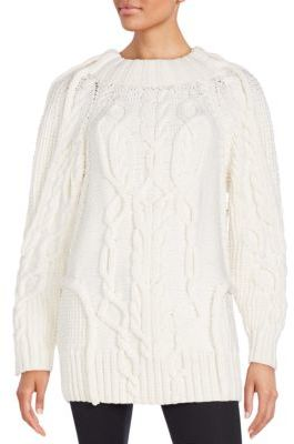 Chunky Knit Wool Sweater $1,595 thestylecure.com