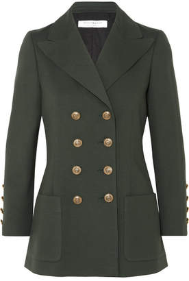 Philosophy di Lorenzo Serafini Double-breasted Jersey Blazer - Dark green