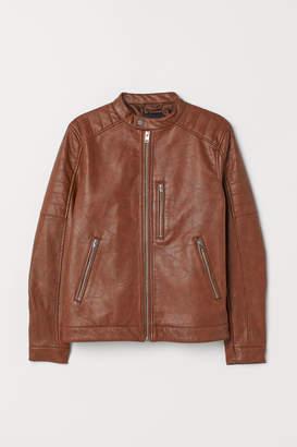 H&M Biker Jacket - Beige