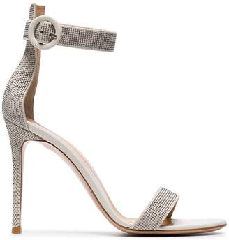 ff2f4fe206d Gianvito Rossi White Leather Sandals For Women - ShopStyle Canada