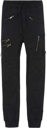Haider Ackermann Cotton-Jersey Biker Track Pants
