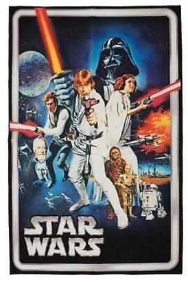 Star Wars Kid's Company One-of-a-Kind Blue/White Area Rug