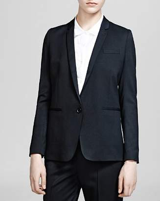 The Kooples Blazer - Stretch Smoking