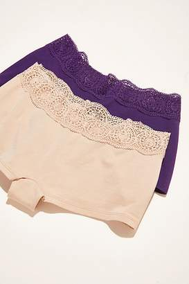 Intimately Cotton Medallion Boyshorts