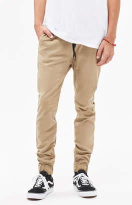 PacSun Skinny 2.0 Khaki Jogger Pants