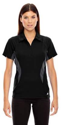 Ash City - North End Ladies' Serac UTK cool?logik Performance Zippered Polo