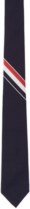 Thom Browne Navy Stripe Classic Tie $215 thestylecure.com