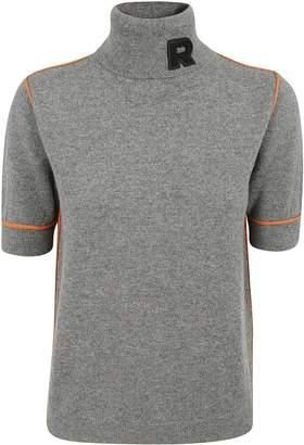 Rochas Roll Neck Logo Sweater