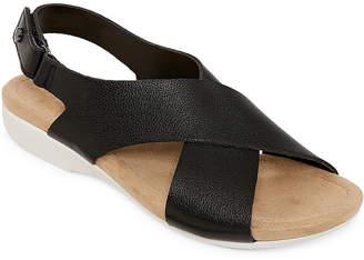 a0acd856e9f3 ST. JOHN S BAY Womens Zolo Slingback Strap Flat Sandals