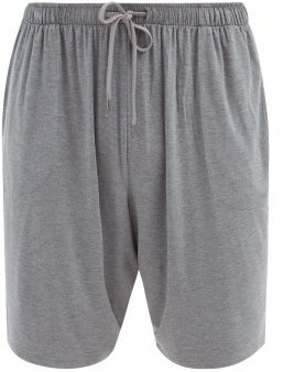 Derek Rose Marlowe Jersey Pyjama Shorts - Mens - Grey